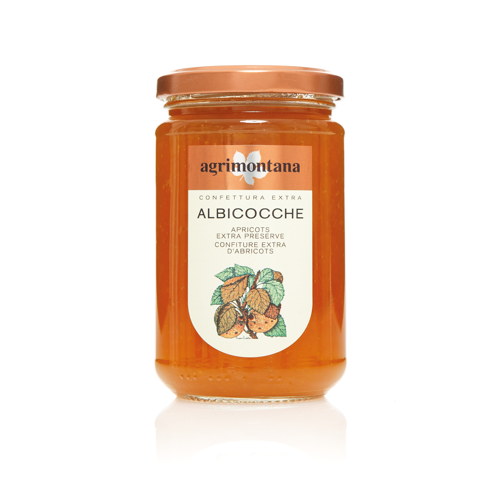 Agrimontana Apricots Extra Jam