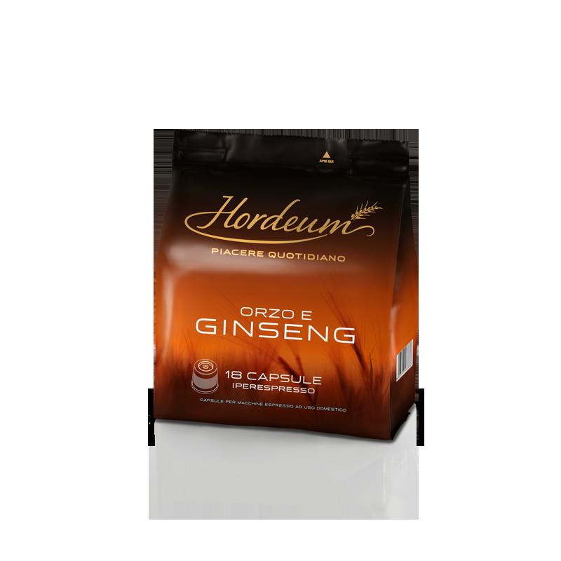 Orzo e Ginseng per macchine da caffè Iperespresso